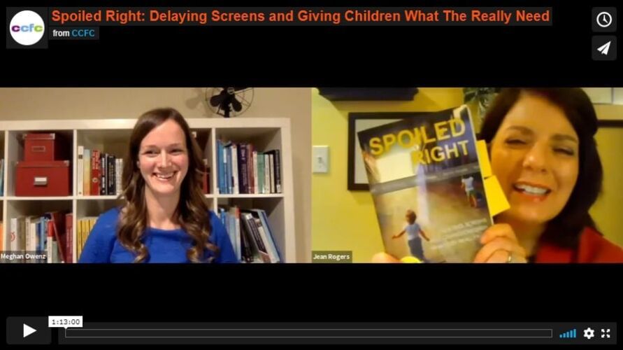 Spoiled Right: Delaying Screens and Giving Children What They Really Need