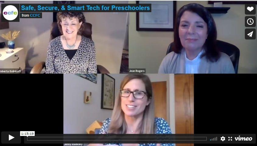 Safe, Secure, & Smart Tech for Preschoolers