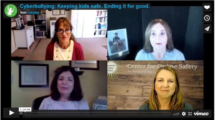 Cyberbullying: Keeping kids safe. Ending it for good.