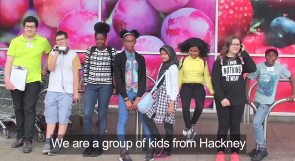 Group of kids from Hackney_0