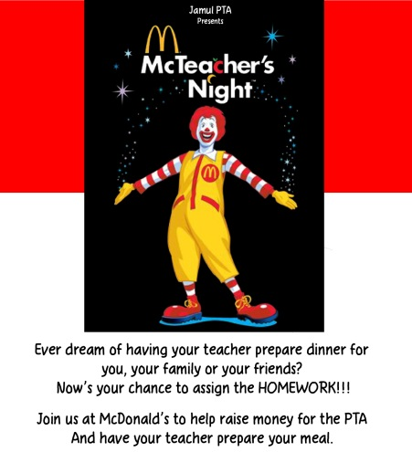 McTeacher's Night Flyer