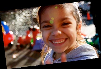 Smiling child - slider image